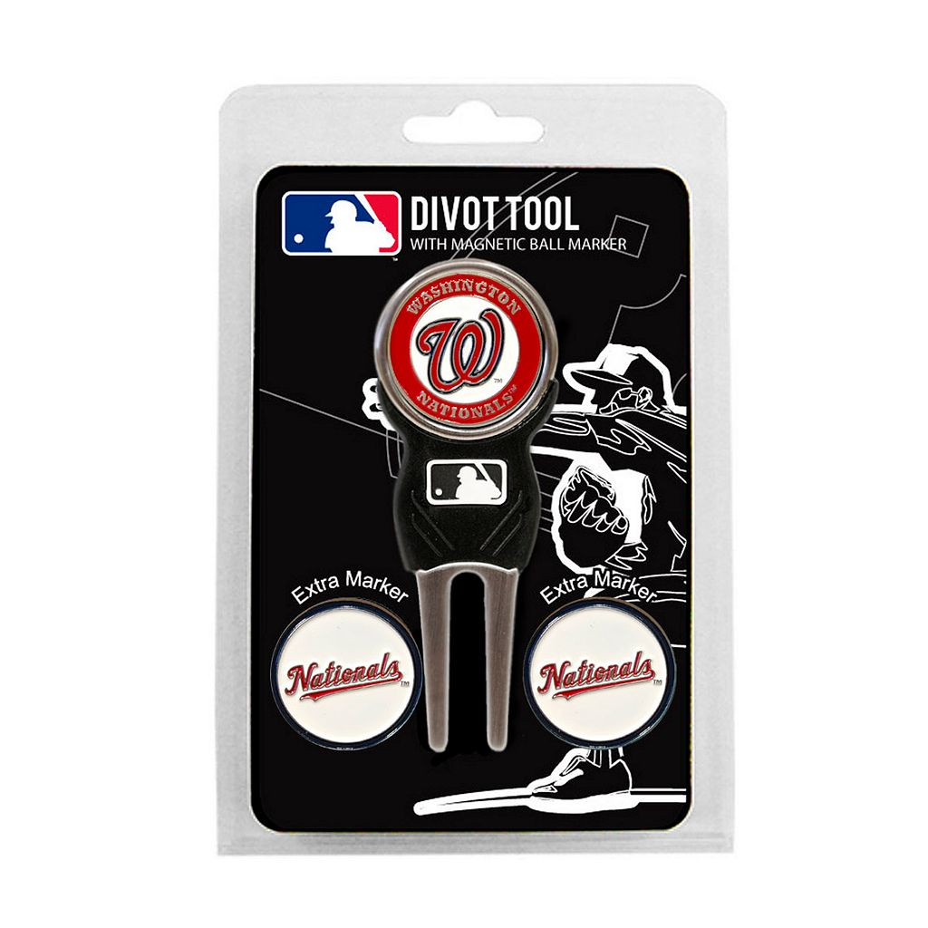 Team Golf Washington Nationals 4-pc. Divot Tool & Ball Marker Set
