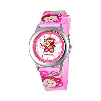 Red Balloon Kids' Time Teacher Monkey Watch