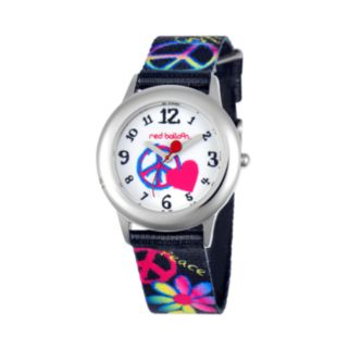 Red Balloon Juniors' Peace & Love Watch