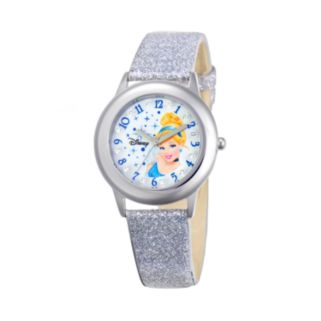 Disney Princess Cinderella Juniors' Leather Watch