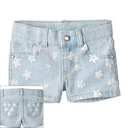 SONOMA life + style Star Denim Shorts - Toddler