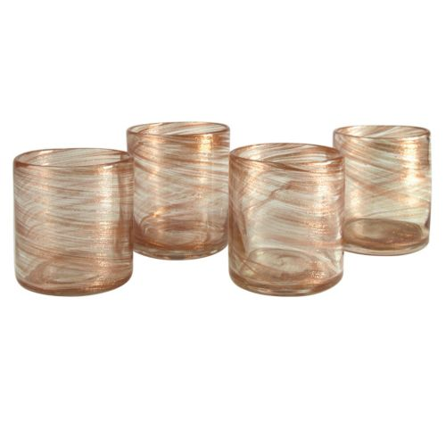Artland Shimmer 4-pc. Double Old-Fashioned Glass Set