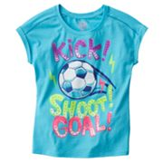 SO Soccer Dolman Tee - Girls Plus