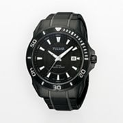 Pulsar Stainless Steel Black Ion Watch - PS9159 - Men