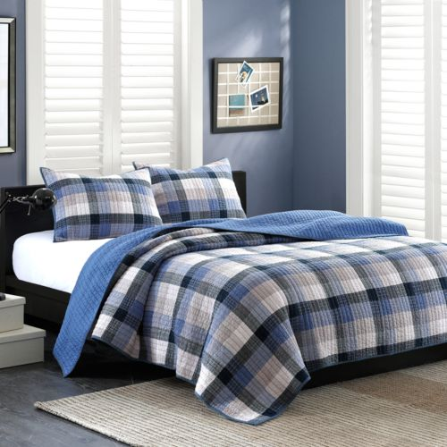 INK+IVY Maddox 3-pc. Quilted Coverlet Set - King