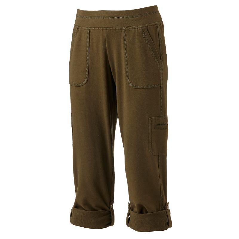 Cotton Blend Pants Kohl S