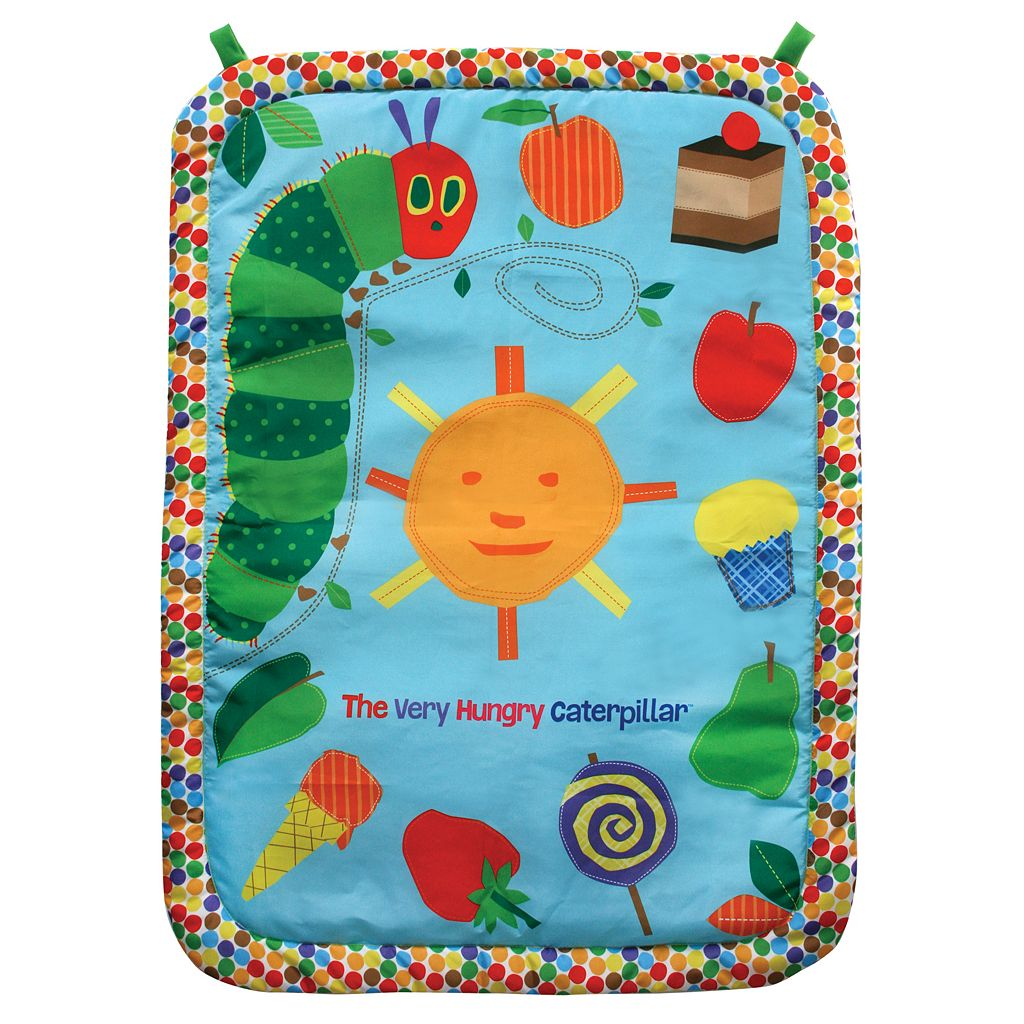 The World of Eric Carle Tummy Time Plush Play Mat & Pillow Set