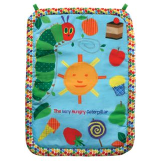 The World of Eric Carle Tummy Time Plush Play Mat and Pillow Set