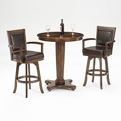 Ambassador 3 pc Pub Table Set