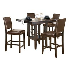 Arcadia 5 pc Parson Dining Table & Chairs Set