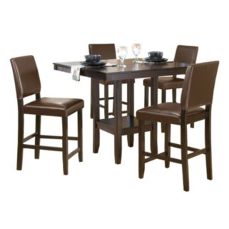 Arcadia 5-pc. Parson Dining Table and Chairs Set