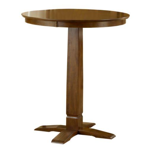 Dynamic Brown Pub Table
