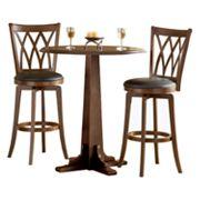Mansfield 3 pc Pub Table Set