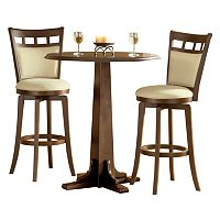 Jefferson 3 pc Pub Table Set