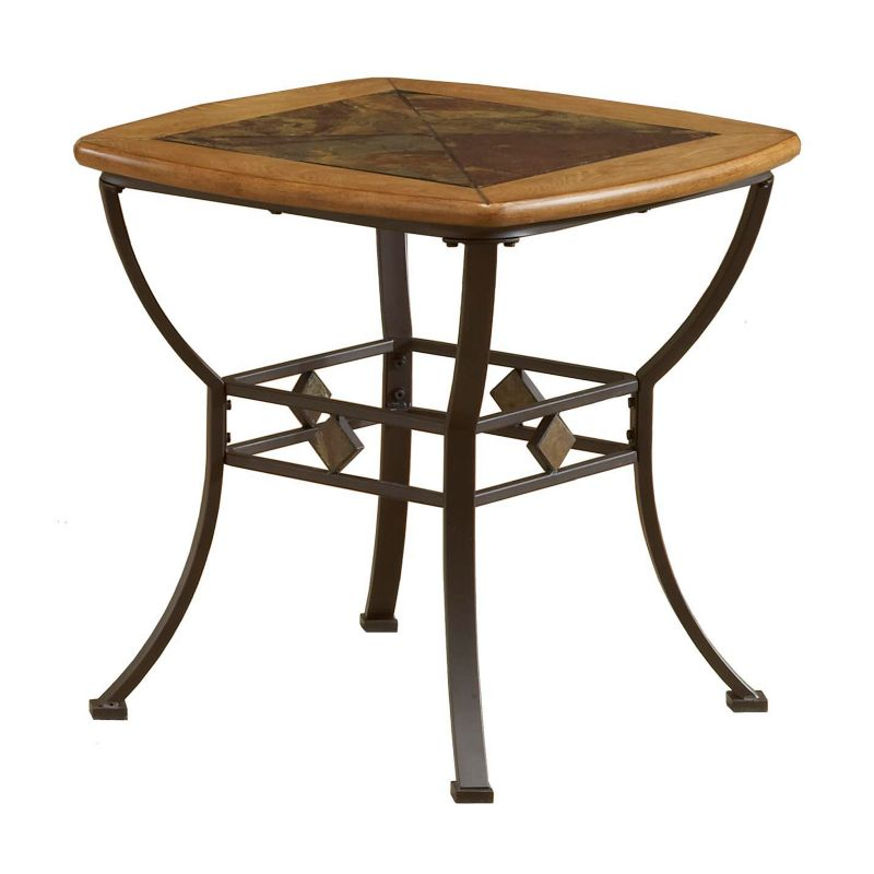 Lakeview End Table, Brown