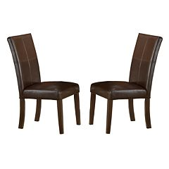 Monaco 2-pc. Parson Chair Set