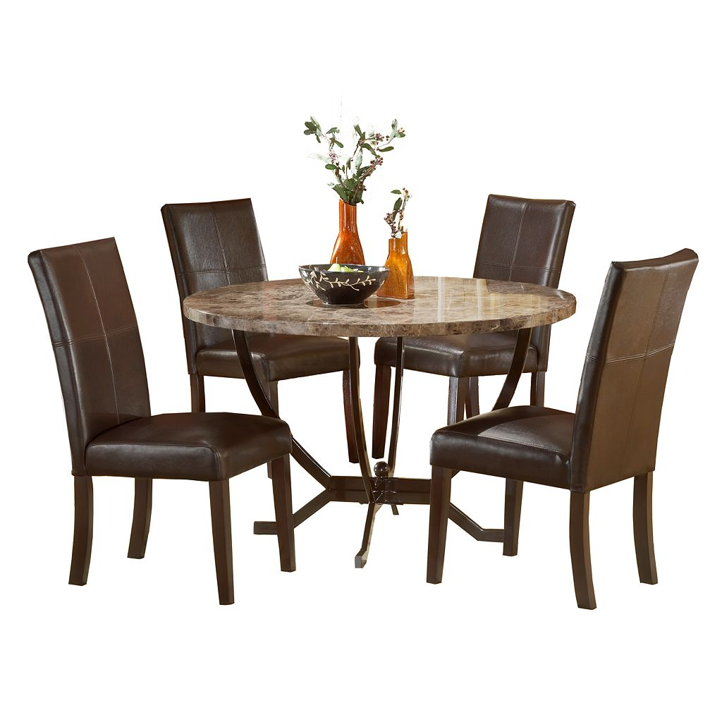 Monaco 5-pc. Dining Table & Chairs Set