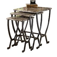 Monaco 3-pc. Nesting Table Set