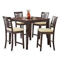 Tiburon 5-pc Counter-Height Dining Set