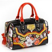Nicole Lee Khloe Sequin Floral Convertible Satchel