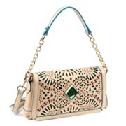 Nicole Lee Sophia Gemstone Burst Convertible Shoulder Bag