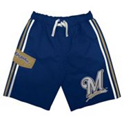 Milwaukee Brewers Cargo Swim Trunks - Boys 8-20