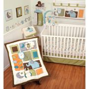 Sumersault Nitey Night 4-pc. Crib Set