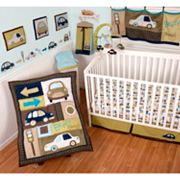 Sumersault Classic Cars 4-pc. Crib Set