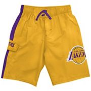 Los Angeles Lakers Cargo Swim Trunks - Boys 8-20