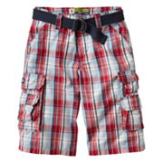 Lee Wyoming Plaid Cargo Shorts - Boys 8-20 Husky