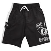 Brooklyn Nets Cargo Swim Trunks - Boys 8-20