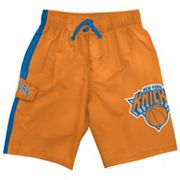 New York Knicks Cargo Swim Trunks - Boys 8-20
