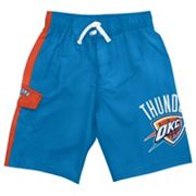 Oklahoma City Thunder Cargo Swim Trunks - Boys 8-20