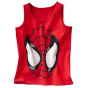 Spider-Man Glow-in-the-Dark Tank - Boys 4-7