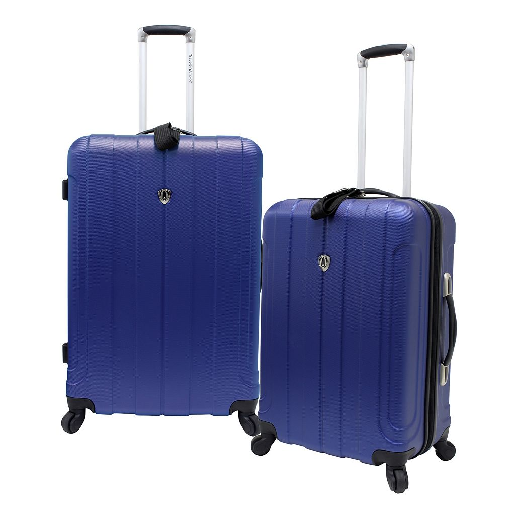 Traveler's Choice Cambridge 2-Piece Hardside Spinner Luggage Set