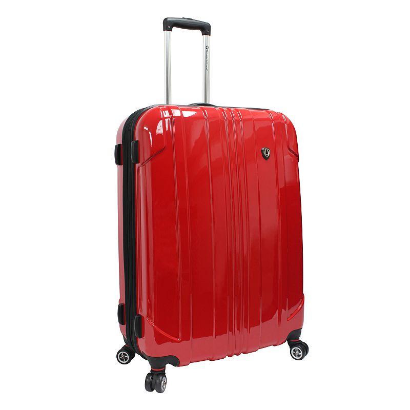 Traveler ™s Choice Sedona 29-Inch Hardside Spinner Luggage, Red