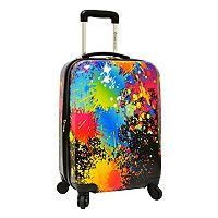 Traveler's Choice Paint Splatter 29-Inch Hardside Spinner Luggage