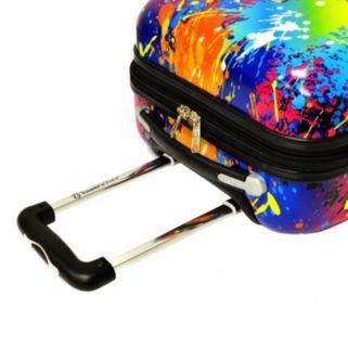 Traveler's Choice Paint Splatter 29-Inch Hardside Spinner Luggage
