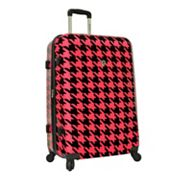 Traveler?s Choice Houndstooth 29-in. Hardside Expandable Spinner Upright