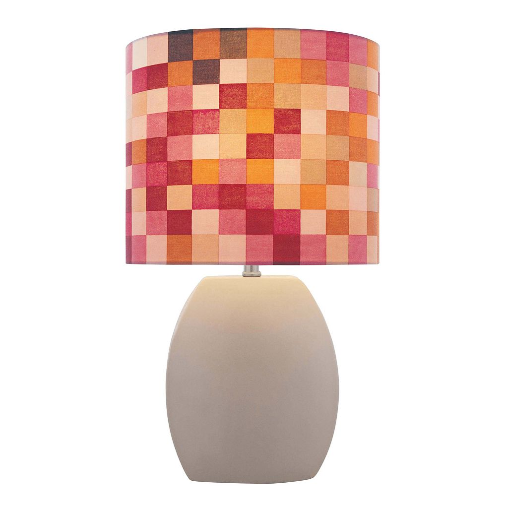 Lite Source Inc. Reiko Geometric Table Lamp