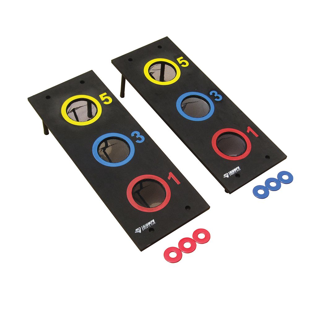 Triumph Bag and Washer Toss Game