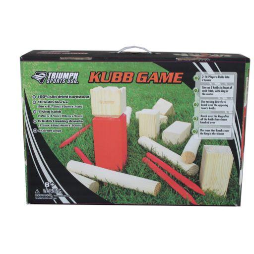 Triumph Kubb Game