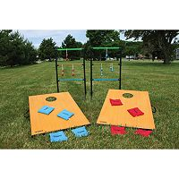 Triumph Sports USA 2-In-1 Tournament Bag & Ladder Toss Game