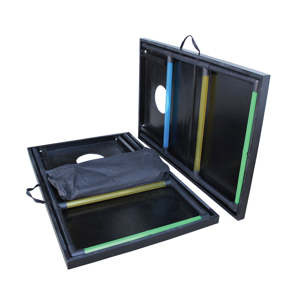 Triumph Sports USA 2-In-1 Tournament Bag and Ladder Toss Game