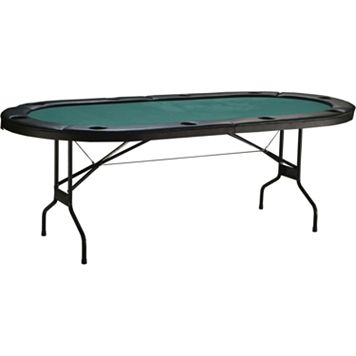 Triumph Sports USA Folding Texas Hold 'em Poker Table