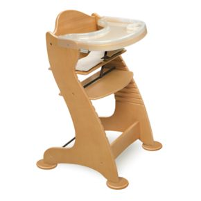Badger Basket Adjustable Wood High Chair
