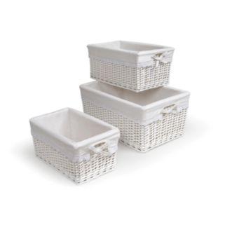 Badger Basket 3-pc. Wicker Basket Set