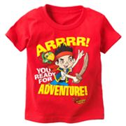 Disney Jake and the Never Land Pirates Adventure Tee - Toddler