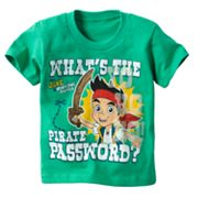Disney Jake and the Never Land Pirates Password Tee - Toddler