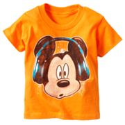 Disney Mickey Mouse Headphones Tee - Toddler